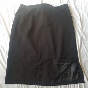CLC Cricket Lane Collections Black skirt Size 18